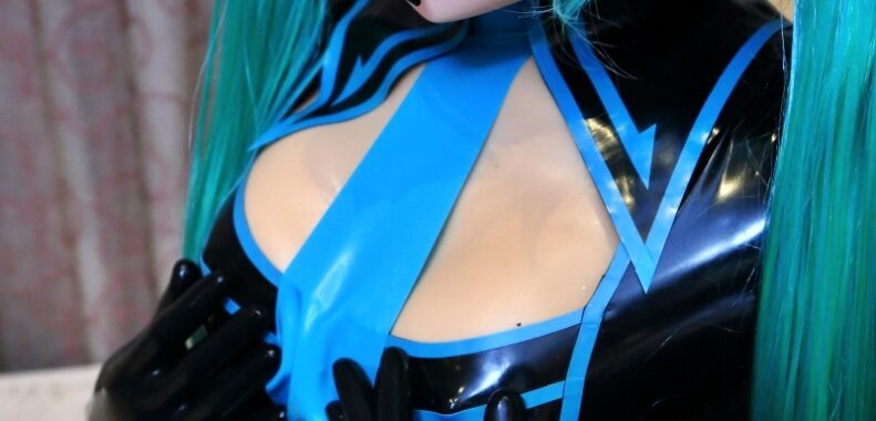 Rubber Hatsune Miku Costume